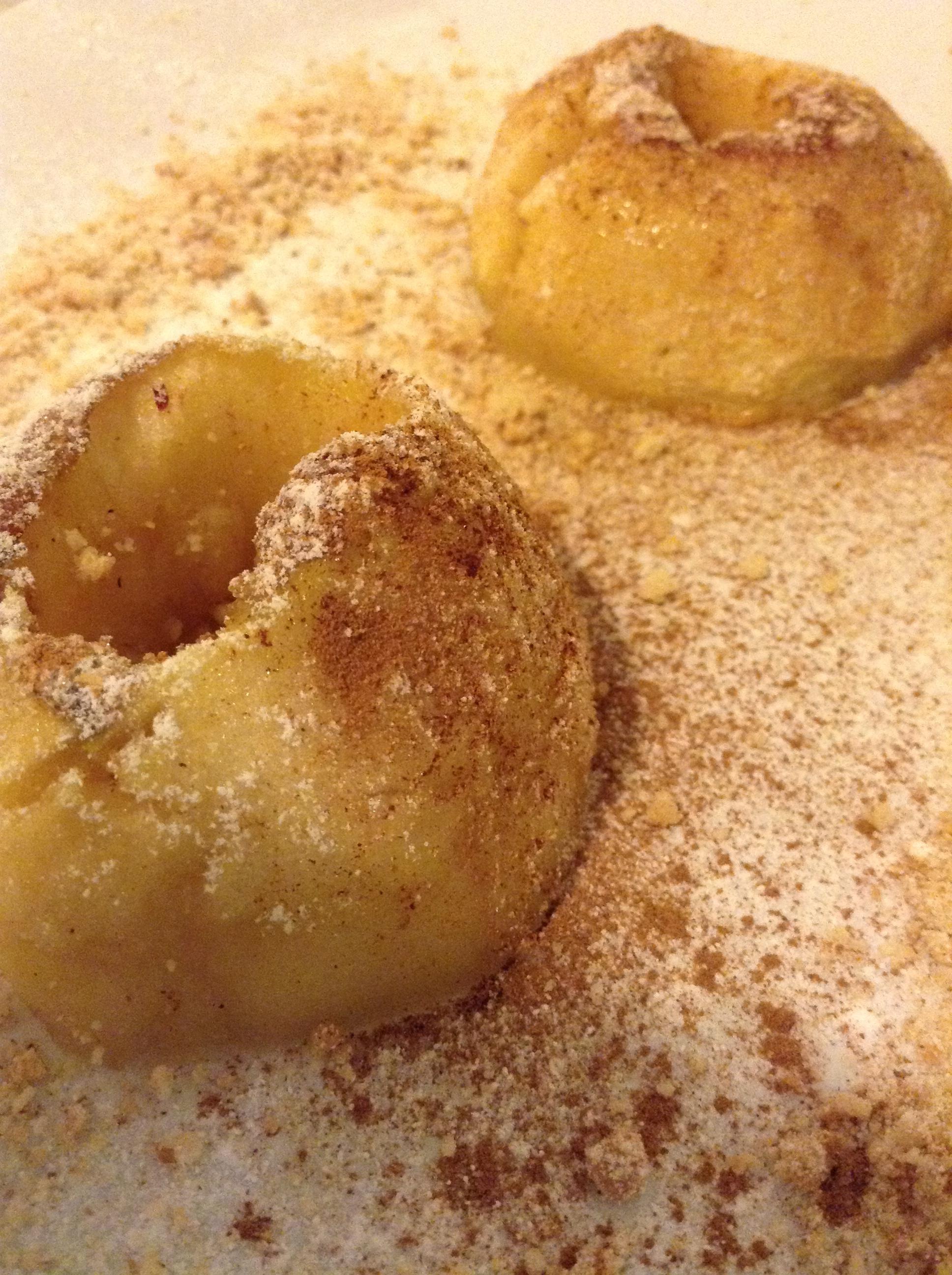 Καραμελωμένα μήλα στο φούρνο