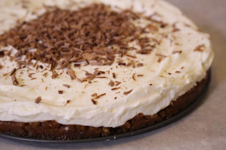Cheesecake μελομακάρονο