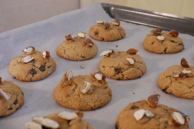 Cookies αμυγδάλου