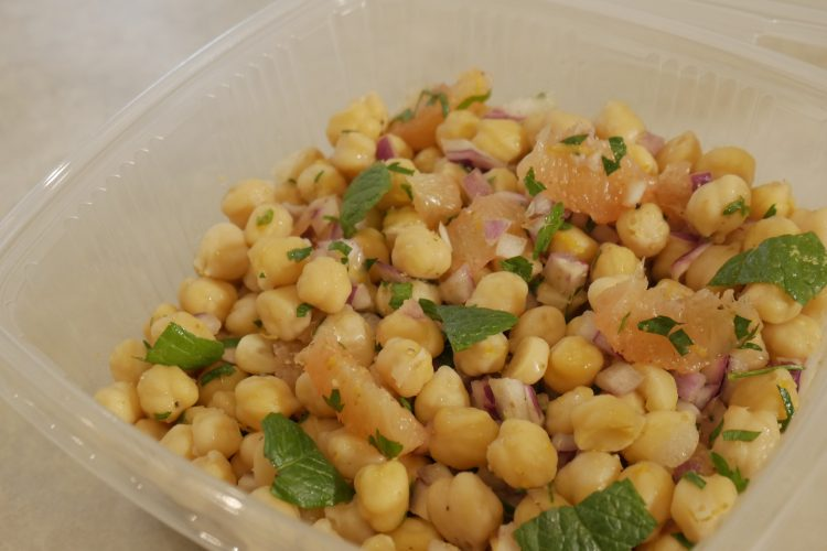 Σαλάτα με ρεβύθια και γκρέιπφρουτ